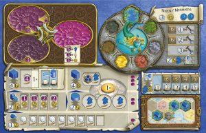 Terra Mystica plošča igralca