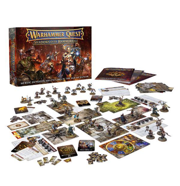 Warhammer Quest Shadows Over Hammerdal