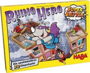 Škatla Rhino Hero Super Battle