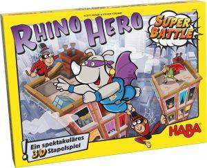 Škatla Rhino Hero Super Battle