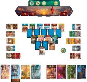 7 Wonders Duel potek igre