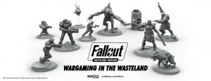 Fallout: Wasteland Warfare miniature