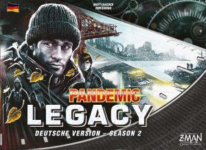 Pandemic Legacy - Season 2 naslovnica