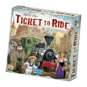 Ticket to Ride: Germany naslovnica