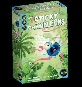 Sticky Chameleons naslovnica