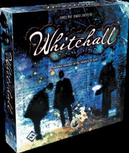 Whitehall Mystery naslovnica