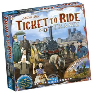 ticket to ride france naslovnica