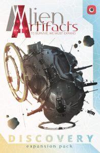 alien artifacts dodatek naslovnica