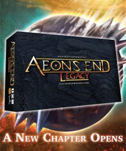 aeon's end legacy naslovnica