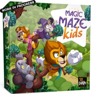 namizna druzabna igra magic maze kids