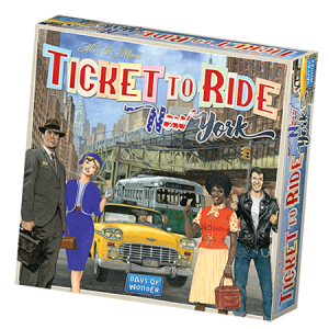 Ticket to Ride: New York naslovnica