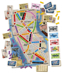 Ticket to Ride: New York vsebina
