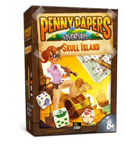 druzabna igra penny papers adventures skull island meeple eu
