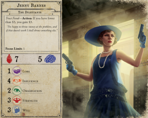 Arkham Horror Third Edition Jenny Barnes