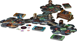Arkham Horror Third Edition postavitev