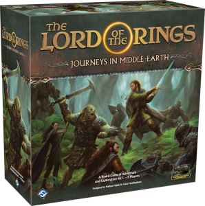The Lord of the Rings Journeys of Middle-Earth naslovnica meeple eu