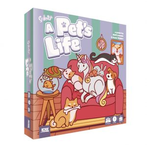 Seikatsu A Pet's Life naslovnica meeple eu