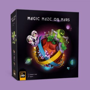 magic maze on mars naslovnica meeple eu